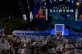 JPMX2198  Remarks and activity from the podium of the Democratic National Convention in Denver on...