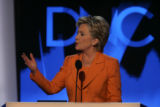 JPMX2325  Remarks and activity from the podium of the Democratic National Convention in Denver on...