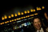 Annette Bening was awarded the Spotlight award from the Creative Coalition at Earl's Restaurant on...