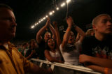 (PG1006) The Flobots and Rage Against the Machine play at the Denver Coliseum on Wednesday, August...