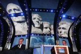 With the scenic Mt. Rushmore from his home state of South Dakota as a backdrop, former US Sen. Tom...