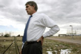 U.S. Congressman Mark Udall, District 2, Colorado, speaks about his impressions of Rocky Flats,...