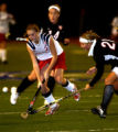 (DENVER, Colo., Oct. 31, 2005) Molly Parker, #7, (cq-roster) of Kent Denver tries to gain control...