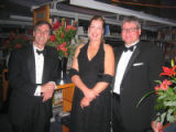 Denver Public Library Booklover's Ball 2005 - (L-R) DPL Finanace Chairman and former commissioner...