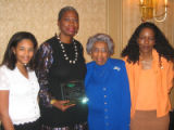 Tribute to Black Youth Luncheon for The Links Inc. Saturday, October 29, 2005 - (L-R) Heir-O-Link...