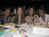 Tribute to Black Youth Luncheon for The Links Inc. Saturday, October 29, 2005 - (L-R) Mandisa...