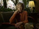 Joan Didion (cq) within the Brown Palace Hotel, 371 17th St., Denver, Colo., Monday, November 7,...