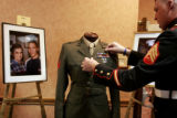 During a formal ceremony called Remembering the Brave, families of fallen Marines were presented...
