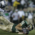 Colorado State Rams Luke Roberts in the third quarter against the Air Force Academy Falcons at...