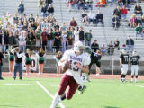 Alamosa High School's Clay Garcia in last Saturday's game against Niwot High School on November...