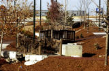 (AURORA, Colo., Nov. 8, 2005) Material such as, mulch, recycled staple stone, recycle tire walkway...