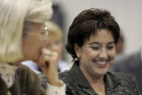 DAVID PULLIAM/The Kansas City Star_11082005_Kansas Board of Education member Connie Morris...