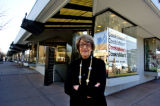 Louise Vigoda (cq) stands by the property ( 3000  3rd Ave.) in Cherry Creek North , that she has...
