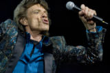 Mick Jagger and the rest of the Rolling Stones entertain a sold out crowd at the Pepsi Center,...