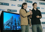 Denver, CO Nov. 15, 2005 George Oliphant and Jeremy Bloom announce that Vail Mountain will become...