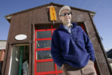 Brice Hoskin (cq) stands outside of his workshop  in Silverton, Colorado Wednesday November 16,...