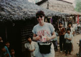 Oscar-winning documentary filmmaker Donna Dewey in Vietnam in 1997, where she shot her...