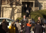 Interim Police Chief Terry Jones held a press conference Friday November 18, 2005, outside 16551...