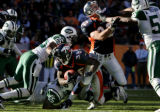 LF0D0271 -- Denver Broncos runningback Mike Anderson, #38, scores against New York Jets Kerry...