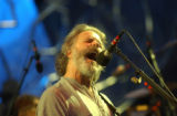 (Red Rocks Park, CO, Shot on 061504) The Dead lead singer Bob Weir belts out some lyrics as they...