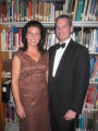 Denver Public Library Booklover's Ball 2005 - Chairwoman Mary Smith and her husband Joe Smith.