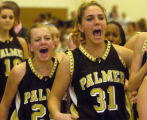 FRIDAY DECEMBER 22ND, 2007 photo by Kirk Speer.   Palmer High School's Emmalle Fladland (#24)...