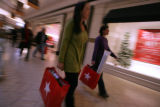 A steady flow of customers came to the Cherry Creek Mall in Denver, Colo. on Wednesday, December...