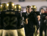 University of Colorado coach Dan Hawkins prepares to take on the University of Alabama before the...