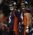 [ JPM796 ] Denver Broncos Jay Cutler (6) reacts to an off-sides penalty against Broncos Brandon...