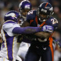 [ JPM409 ] Denver Broncos Andre Hall against the Minnesota Vikings on Sunday afternoon, Dec. 30,...
