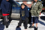 DM0546   Martin Vasquez, 11, center, said he was in the house with 11-year-old Angelica Martinez...