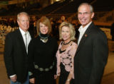 (Denver, Colo., October 22, 2005) Bill Reef and Linda Pryor with Claudia and Bob Beauprez. ...