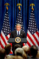 (Denver, Colo., June 1, 2004) President George W. Bush speaks to a group of supporters at a...