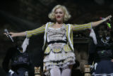 Internationally recorded pop star, Gwen Stefani, performs to a packed house at Magness Arena on...