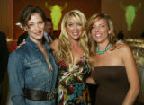 (Denver, Colo., October 26, 2005) Event chairs Natalie Rekstad-Lynn, Holly Kylberg, and Georgia...