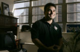 Portrait of Keith Montoya, CEO of Doc.1 Solutions at his office in Denver, Colo., on Wednesday,...