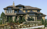"Exterior of ""The Outlook"" by Rennaissance Homes of Pradera. The 2005 Parade of Homes in..."