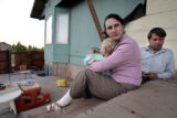 Ross and Lori Chatwin, at their home in Colorado City, Utah on Tuesday May 31, 2005 with their...