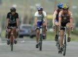Cyclists ride into Boulder on  U.S. 36 just north of Boulder. New laws for cyclists take effect...