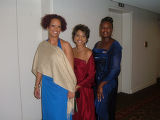 2005 Sigma Pearls Cotillion Ball - May 22, 2005 - Doubletree Hotel, Denver. On the left Andréa Law...