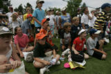 At Cherry Hills Country Club, the US Women's Open participants  practiced for the second day. ...