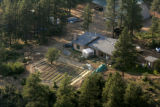A home and garden on land north of Mancos, Colorado on July 1, 2005. owned by the Fundamentalist...