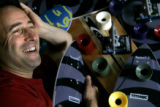 Daniel Gesmer (cq), president of Seismic Skate Systems poses for a portrait Tuesday July 26, 2005...