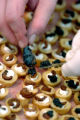 (06/17/2004) Line Chefs from the Little Nell's Restaurant Montagna prepare gorgeous appetizers...