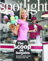 Spotlight fashion. summer t-shirts in ice cream colors...let's shoot it at an ice cream...