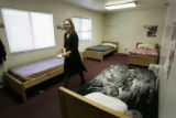 Esther Smith, program director at Tooley Hall in Denver,  a 60-bed community corrections center...