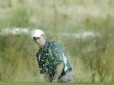 Denver, CO Oct 3, 2005 Steve Ziegler of Legacy High School blasts out of a sand trap on the eighth...