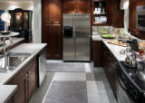SH05J006DIVINEDESIGN Oct. 3, 2005 _ A variety of accents, including small stainless steel kitchen...