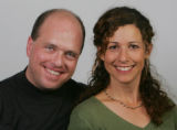 Jay Dedrick and Ellen Jaskol, reporter and photographer with the rocky mountain news.  (Rick...