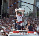 Joe Sakic, 1996 Archive Photo Colorado Avalanche Parade Photo by Cyrus McCrimmon